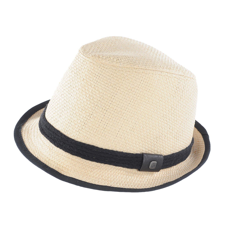 volcom kahli straw fedora hat s evo