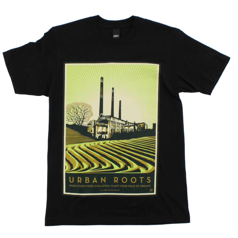 Obey clothing urban roots t shirt evo for Urban streetwear t shirts
