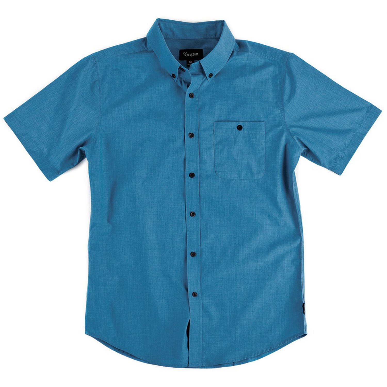 Brixton Central Short Sleeve Button Down Shirt Evo Outlet