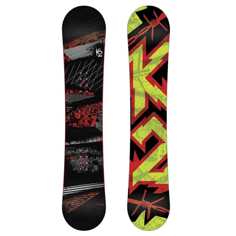 K2 Brigade Snowboard + Sonic Bindings 2013