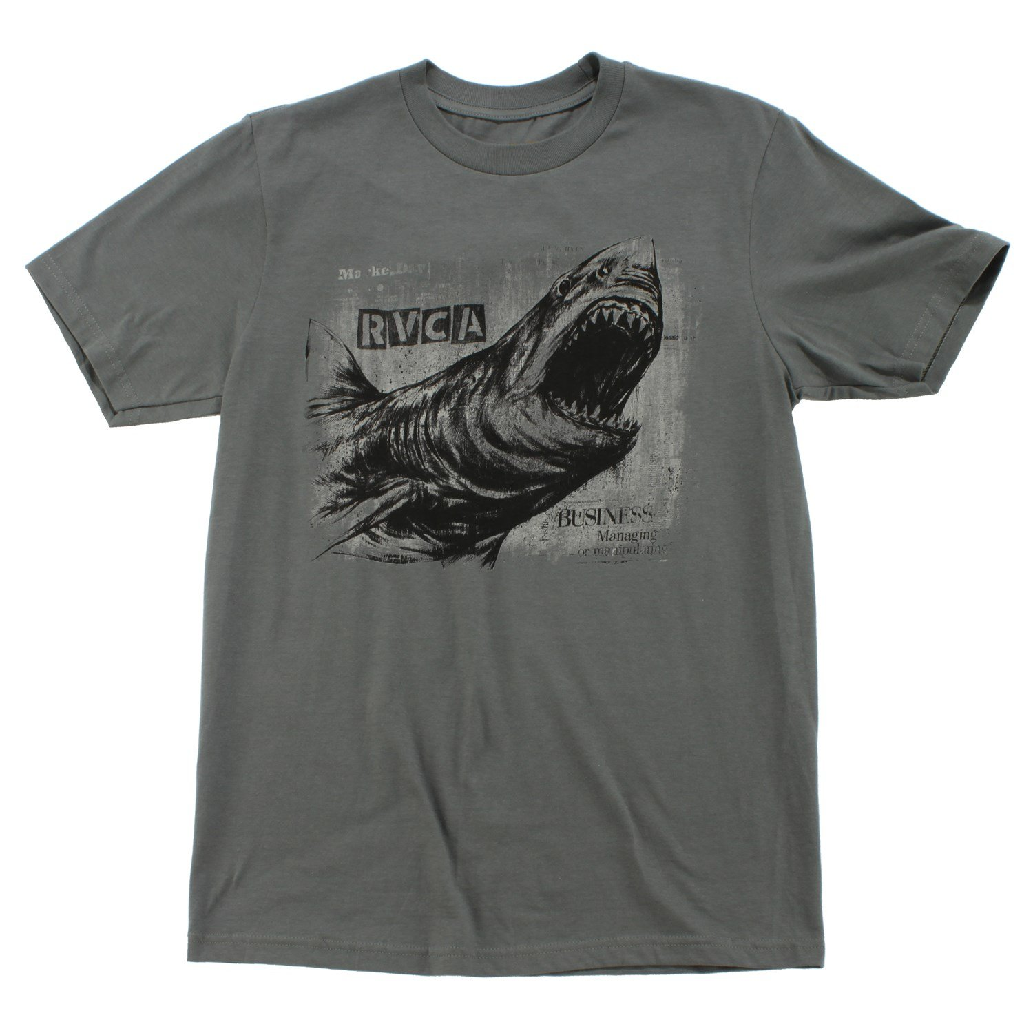 Rvca great white t shirt evo outlet for Good white t shirts