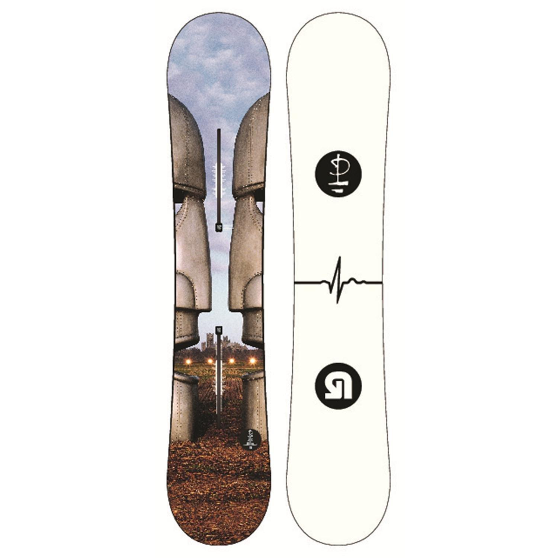 Burton Whammy Bar Snowboard + Cartel EST Bindings 2013