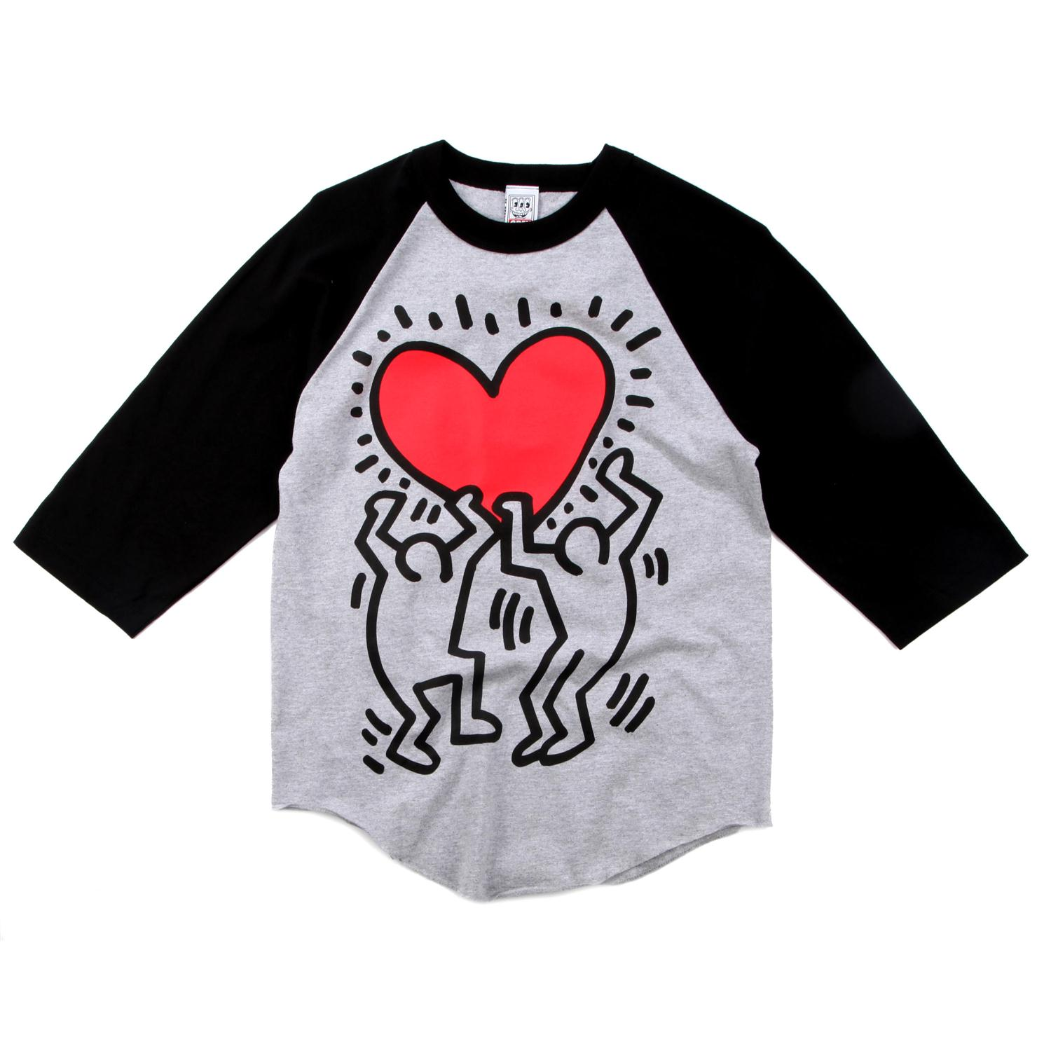 Obey Clothing Red Heart Raglan Shirt | evo outlet