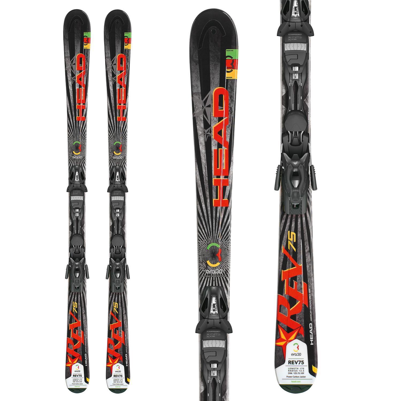 Head REV 75 Skis + PR 11 Bindings 2013