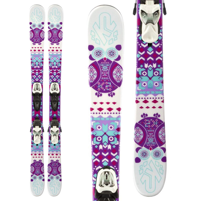 K2 Missy Skis + Fastrak2 7 Bindings - Girl's 2014
