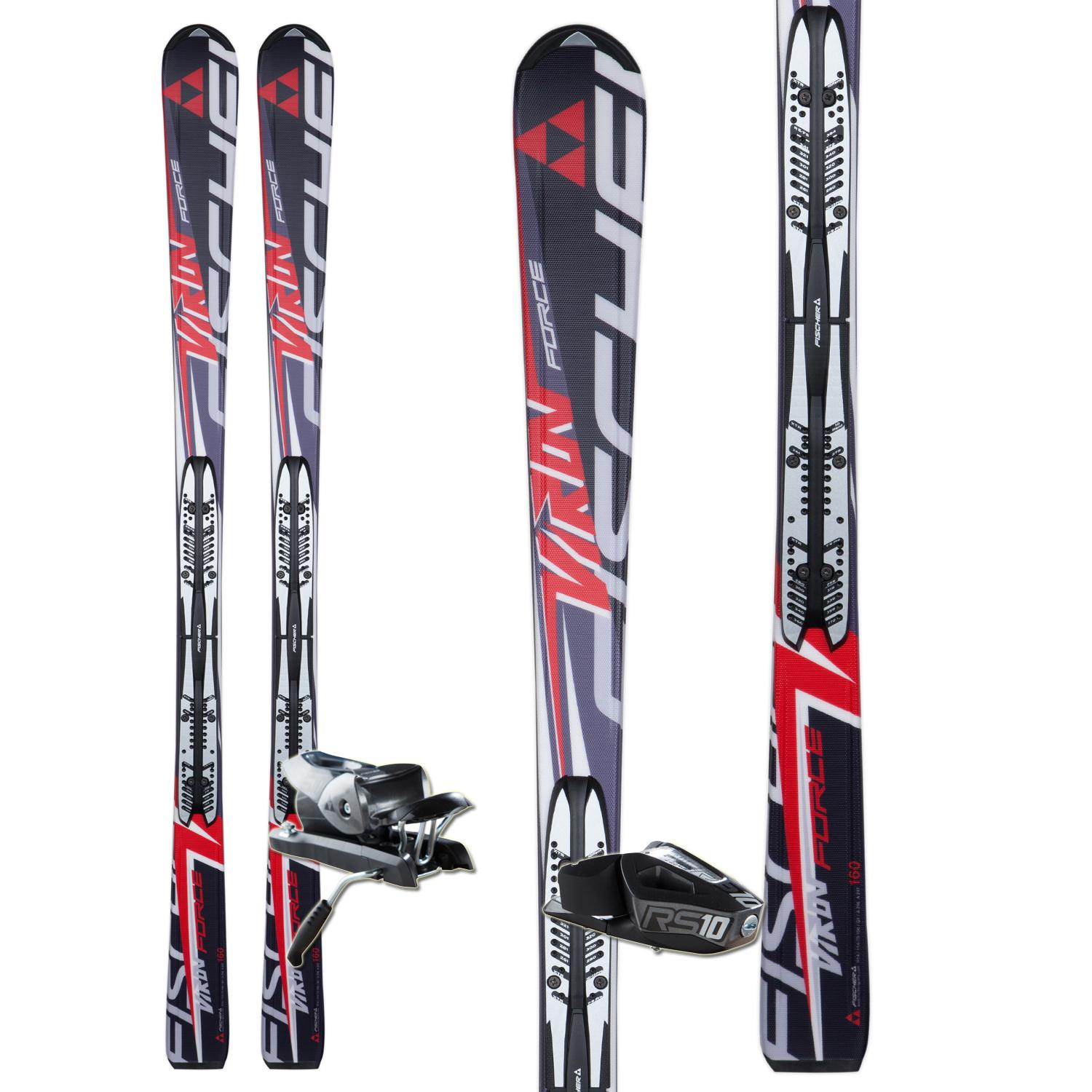 Fischer Viron Force FP9 Skis + RS 10 Bindings 2013