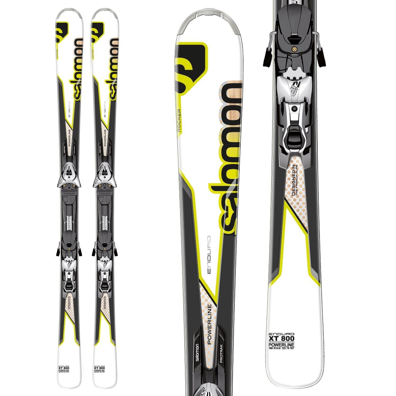 Salomon Enduro XT 800 Skis + Z12 Bindings 2013