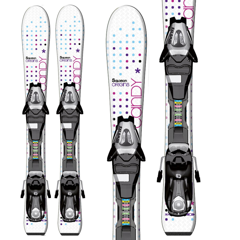 Salomon Candy Jr Skis + C5 Bindings