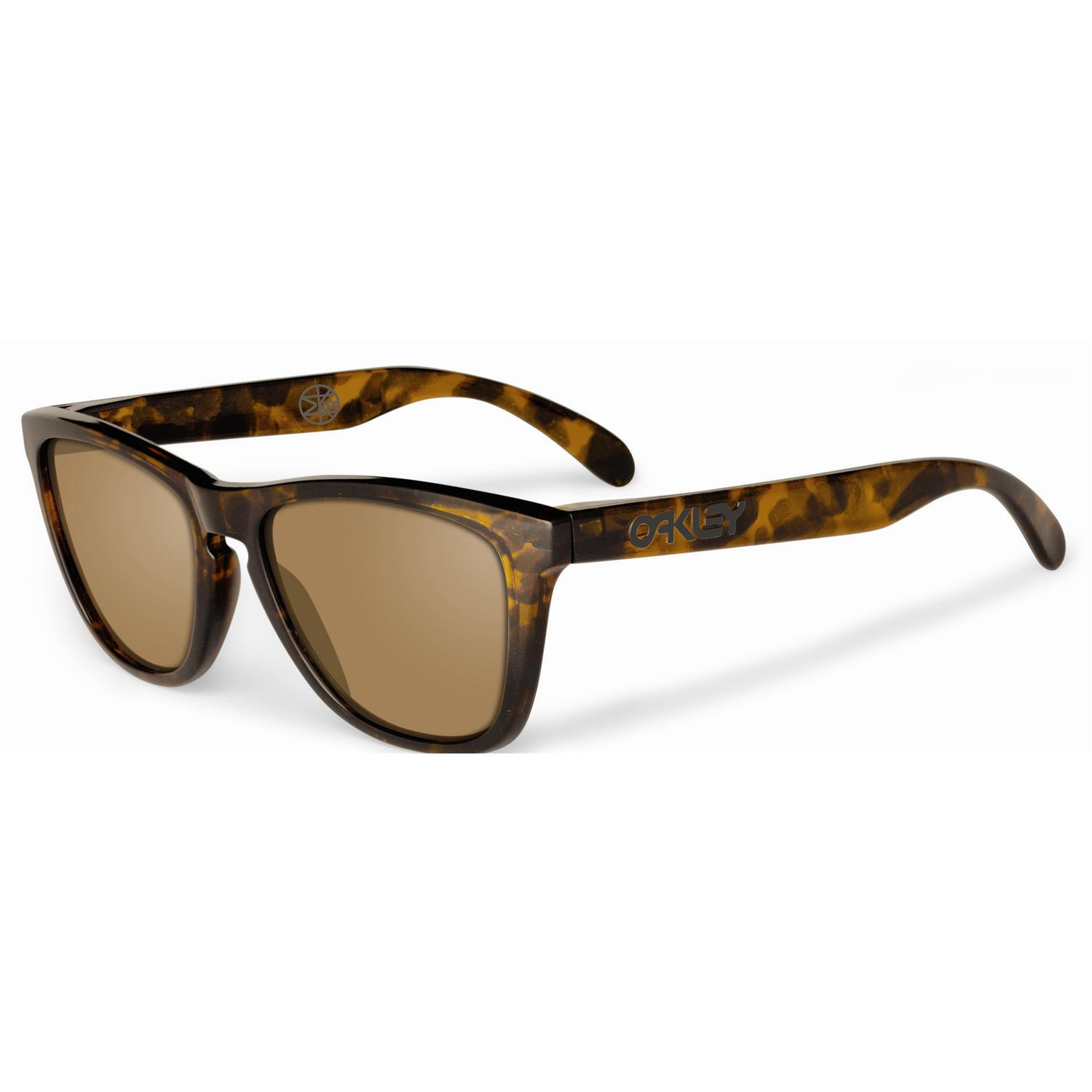 oakley frogskins sunglasses eric  oakley frogskins sunglasses eric koston brown tortoise
