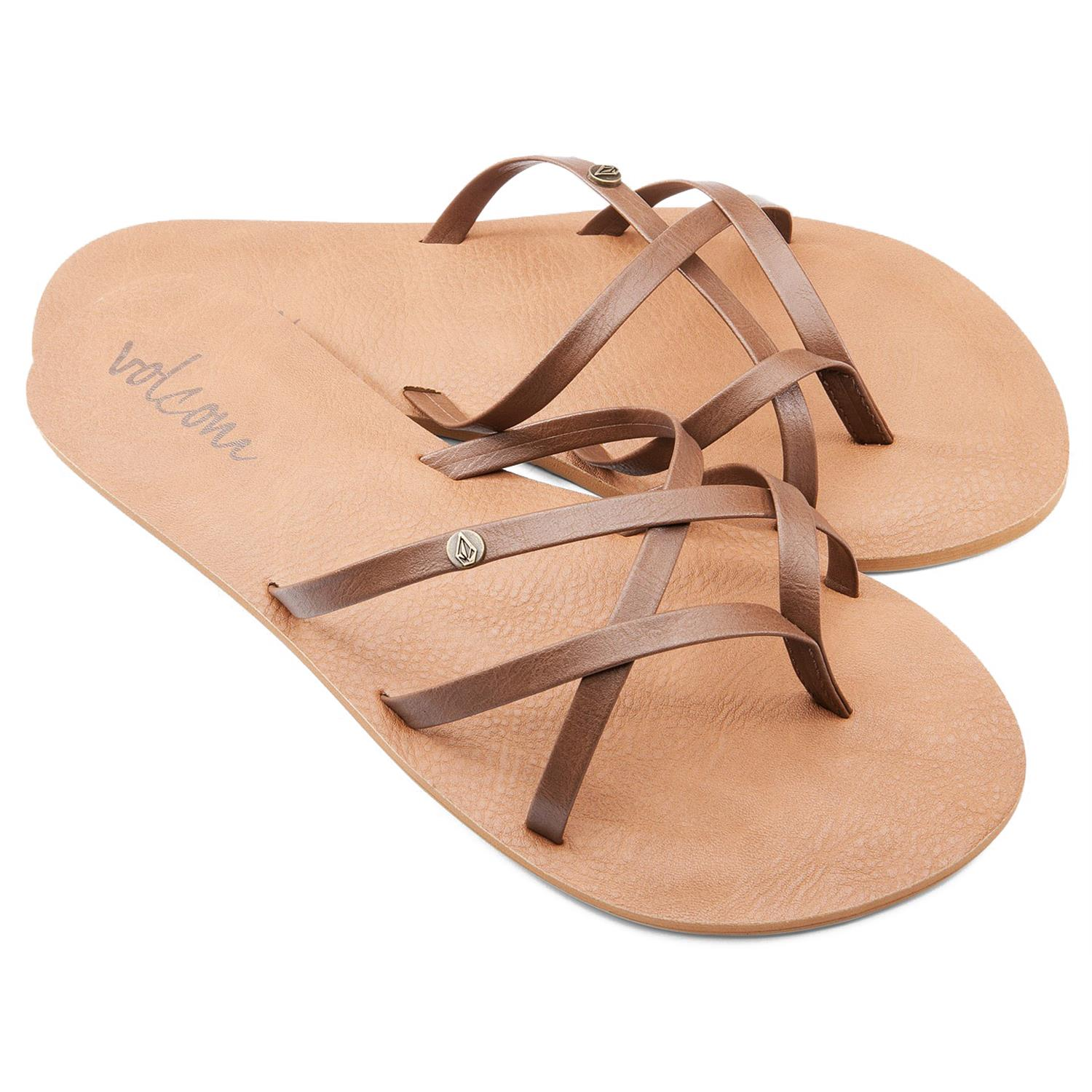 Fantastic Volcom Womens On My List Sandals  Stylewomenshoes