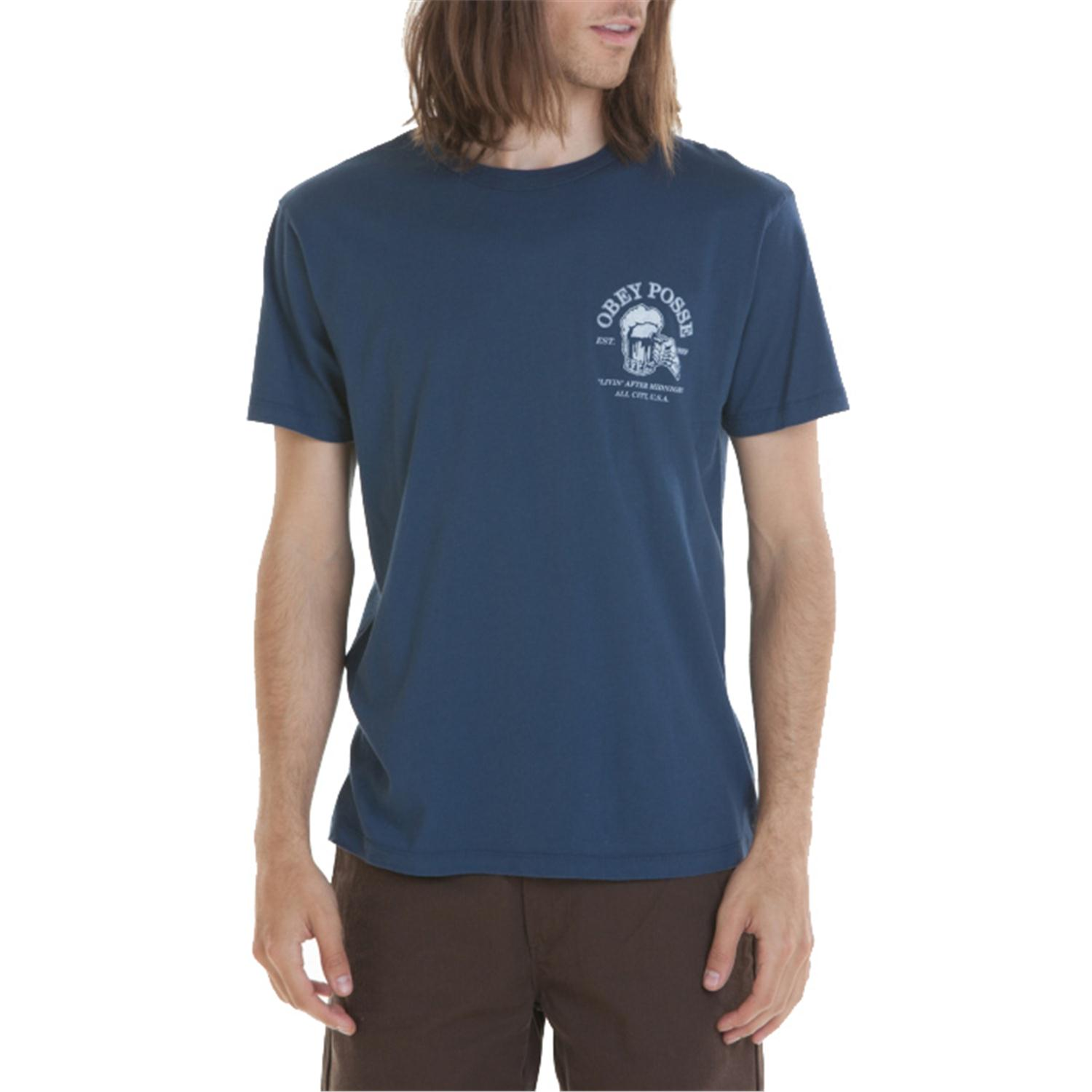 obey clothing livin after midnight t shirt evo outlet