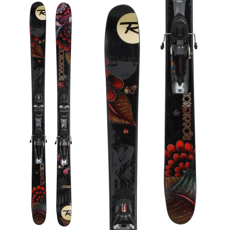 Rossignol S3 Skis + Axial 2 Speedset Bindings