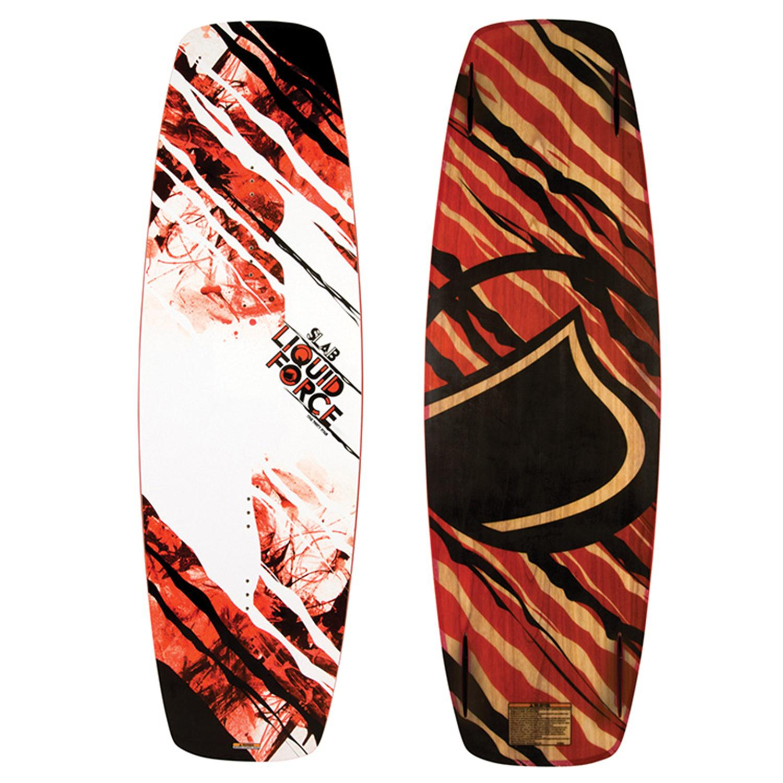 Liquid Force Slab Wakeboard + Vantage OT Bindings 2013