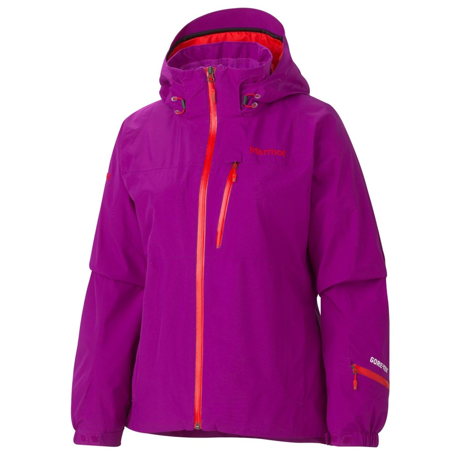 gore-tex ski guide jacket with a radio pocket
