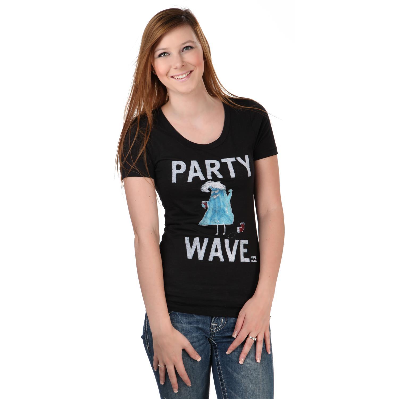 billabong seasters t shirt women 39 s
