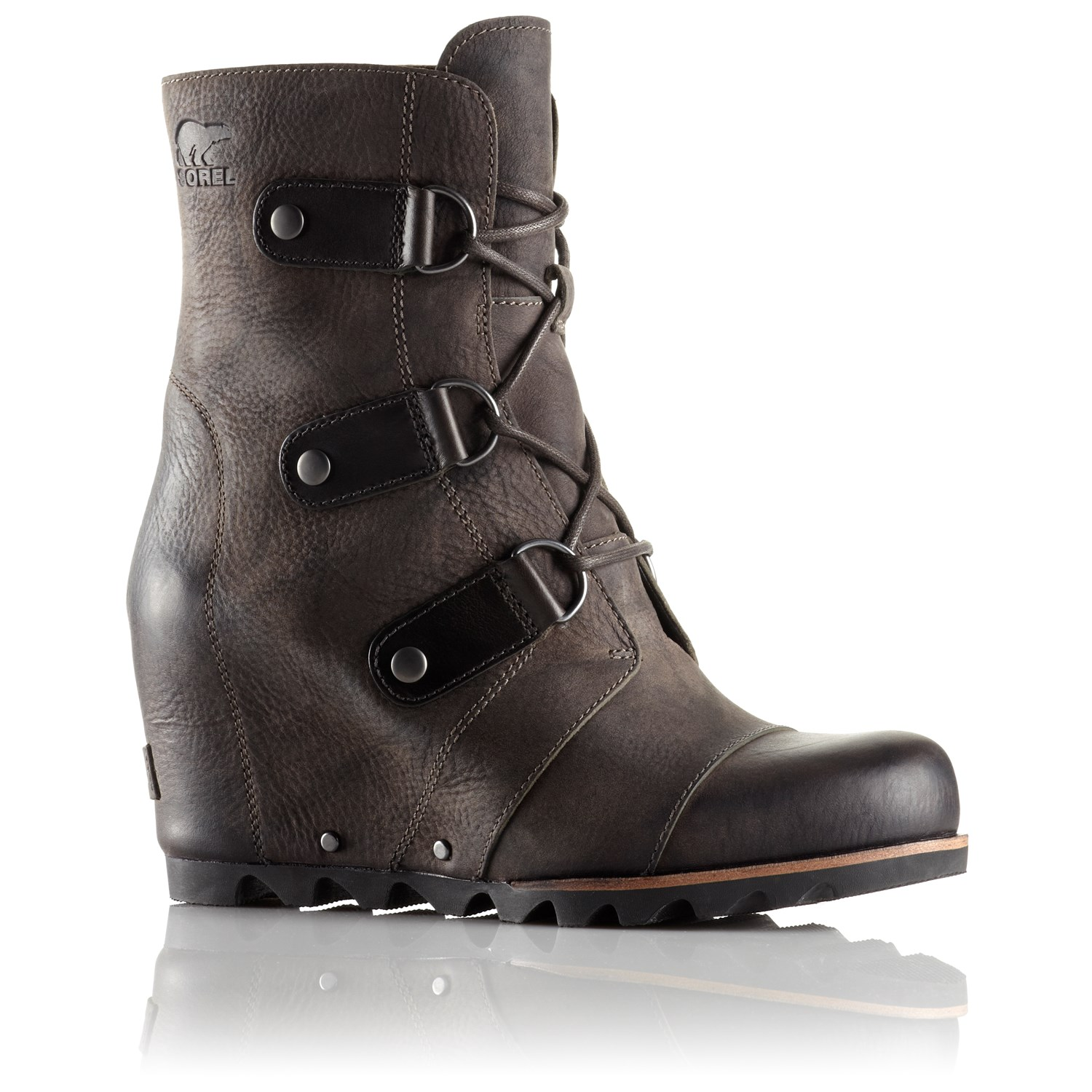 sorel joan of arctic wedge mid boots s evo