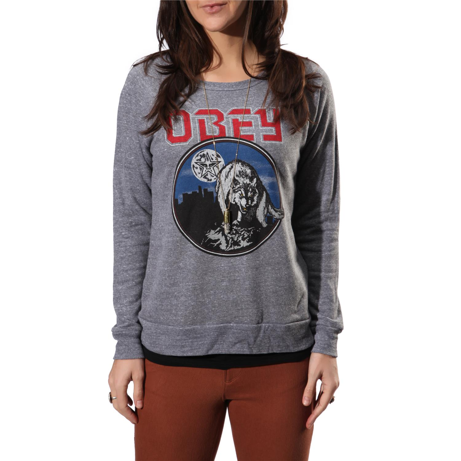 Obey Clothing Wolfen Crew Neck Fleece - Women's | evo outlet