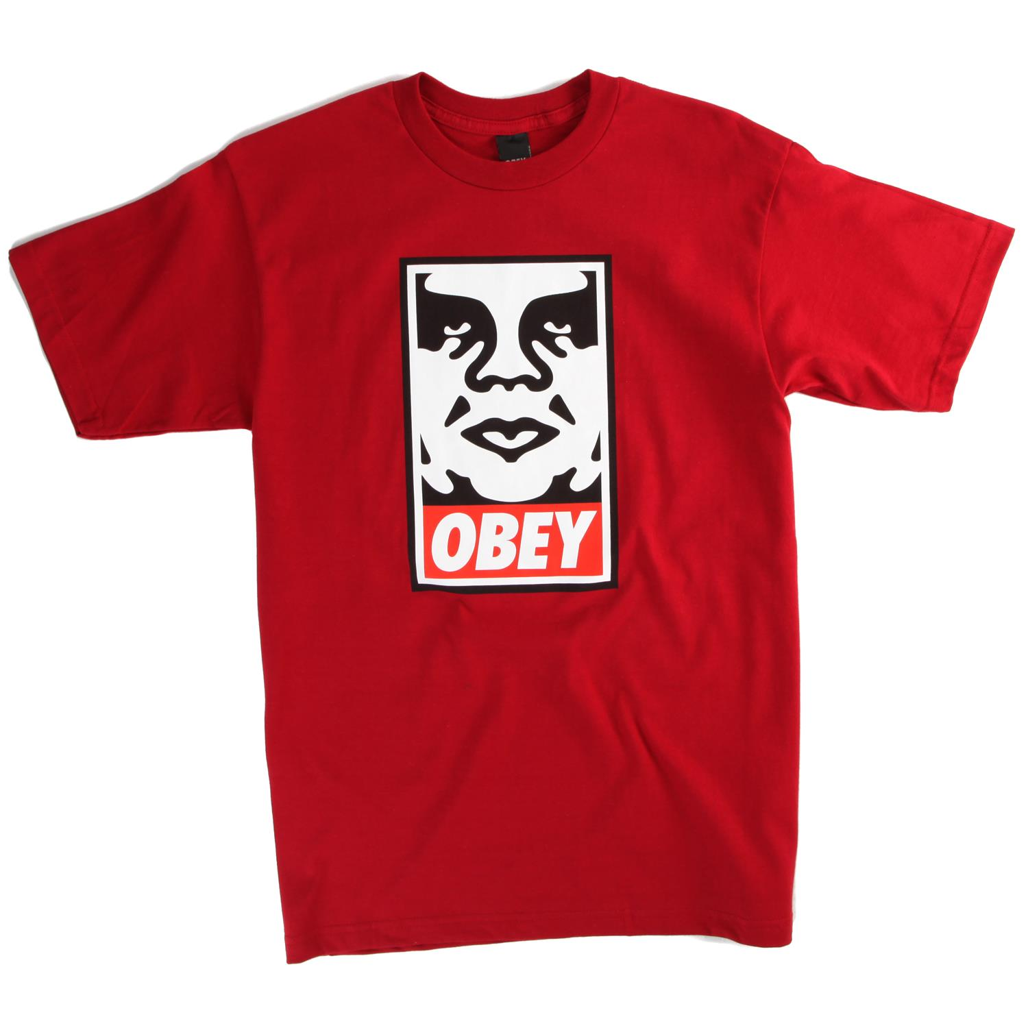 Obey Clothing Icon Face T-Shirt | evo outlet
