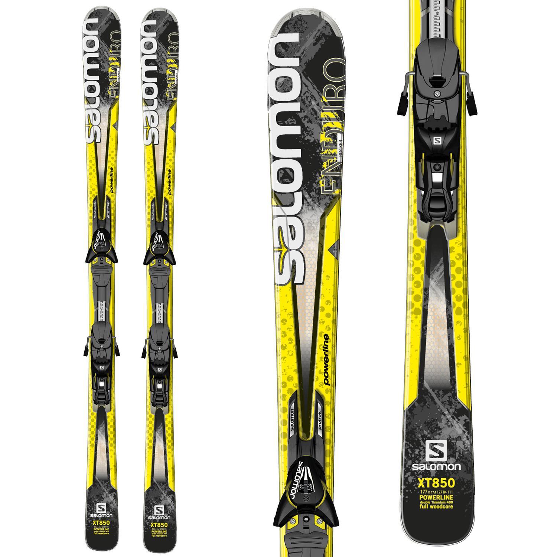 Salomon Enduro XT 850 Skis + Z12 Bindings 2014