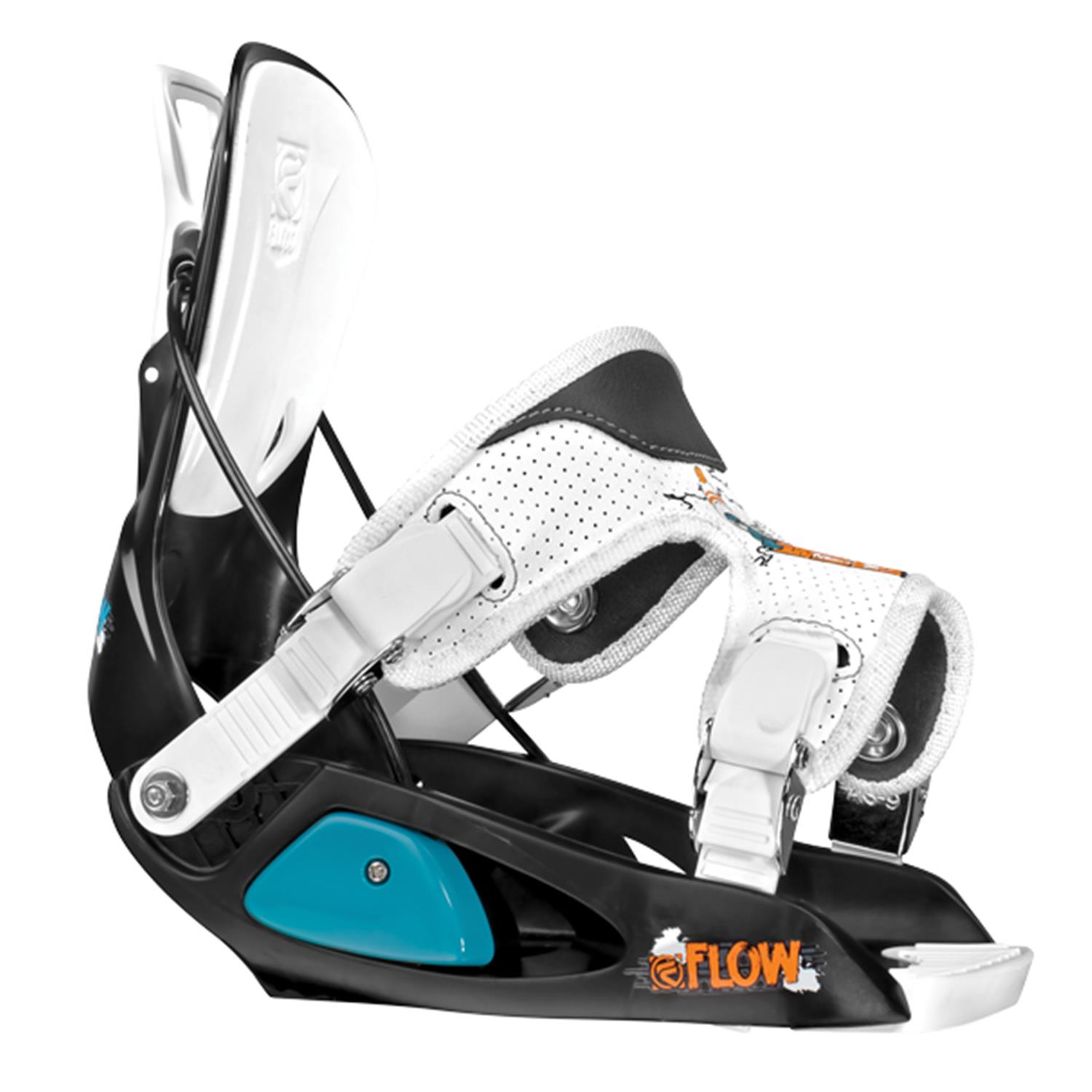 Flow Micron Mini Snowboard + Micron Bindings