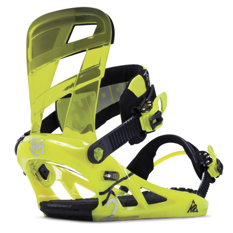 K2 Raygun Snowboard + K2 Hurrithane Snowboard Bindings