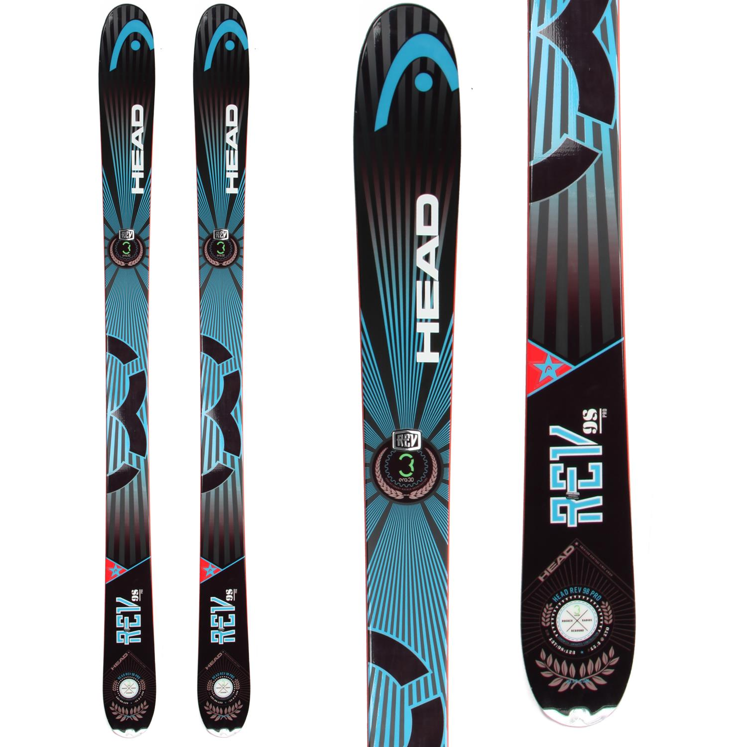 head rev 98 skis 2014 evo outlet. Black Bedroom Furniture Sets. Home Design Ideas