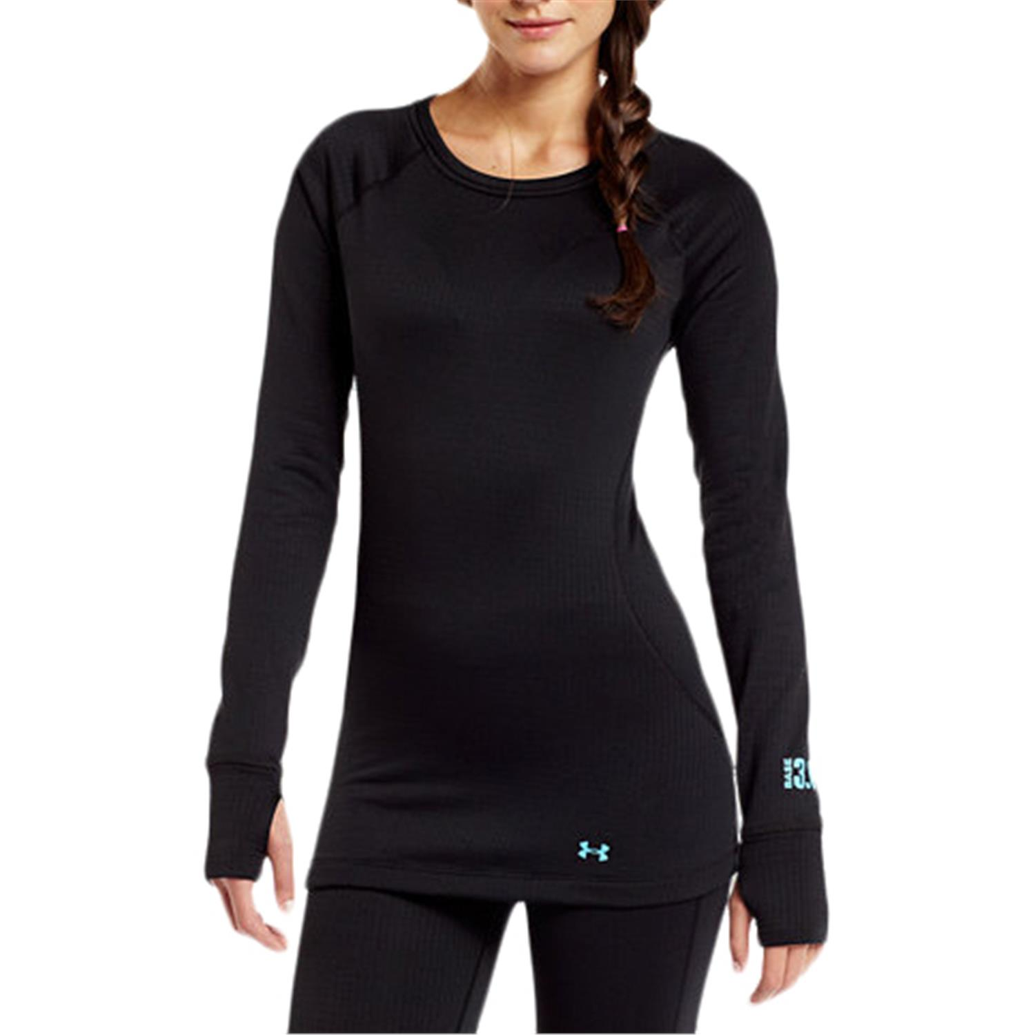 Under Armour Base 3 0 Crew Top Women S Evo