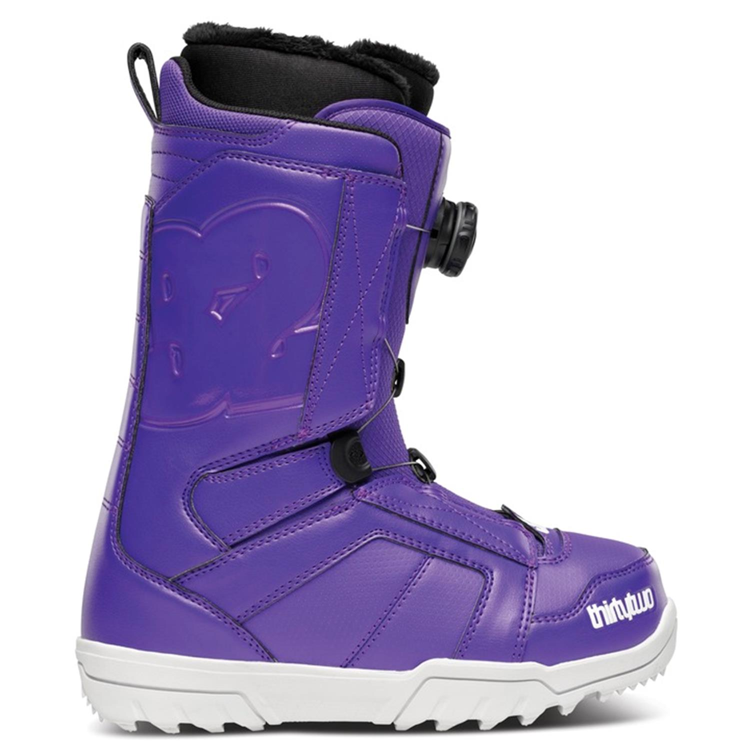 32 stw boa snowboard boots s 2014 evo outlet