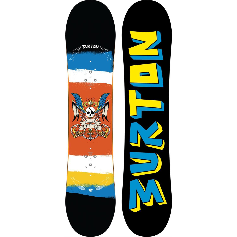 Burton Shaun White Smalls Snowboard + Mission Smalls ...