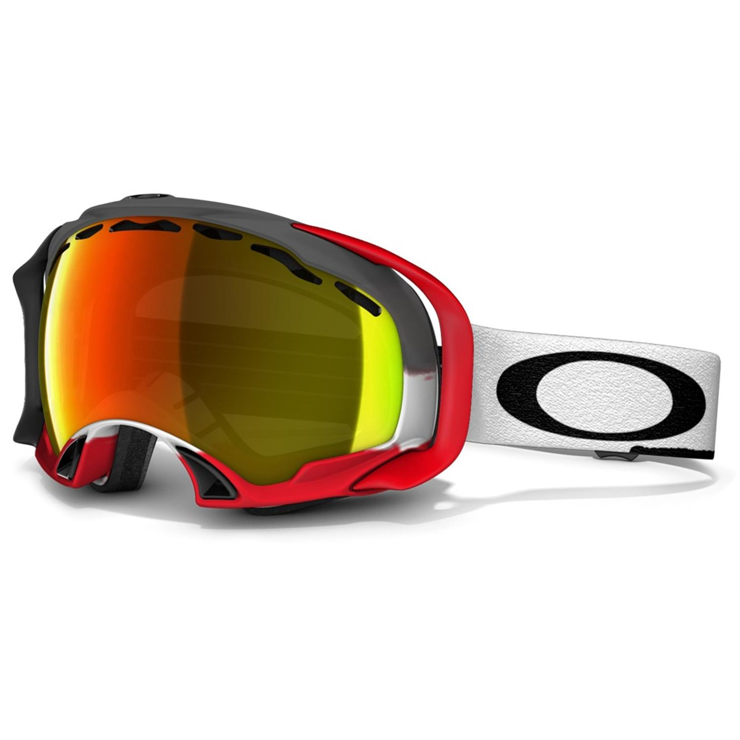 oakleys snowboarding goggles  Oakley Splice Snow Goggle Jet Black/fire Iridium \u2013 Bitterroot ...