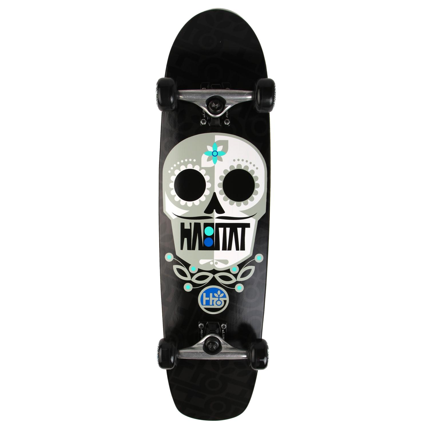 Habitat habitat sugar skull large skateboard complete for Habitat outlet