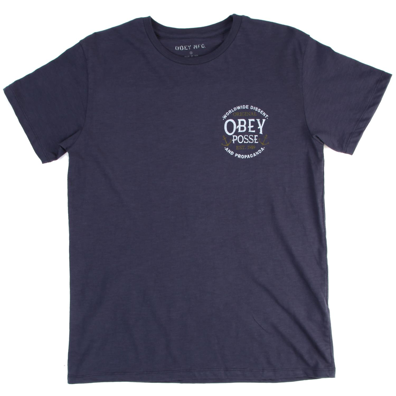 obey clothing original obey posse t shirt evo outlet. Black Bedroom Furniture Sets. Home Design Ideas