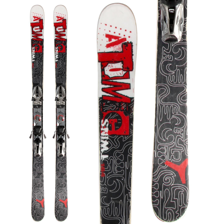 Atomic Twins Skis + Marker Speedpoint M9.0 Demo Bindings