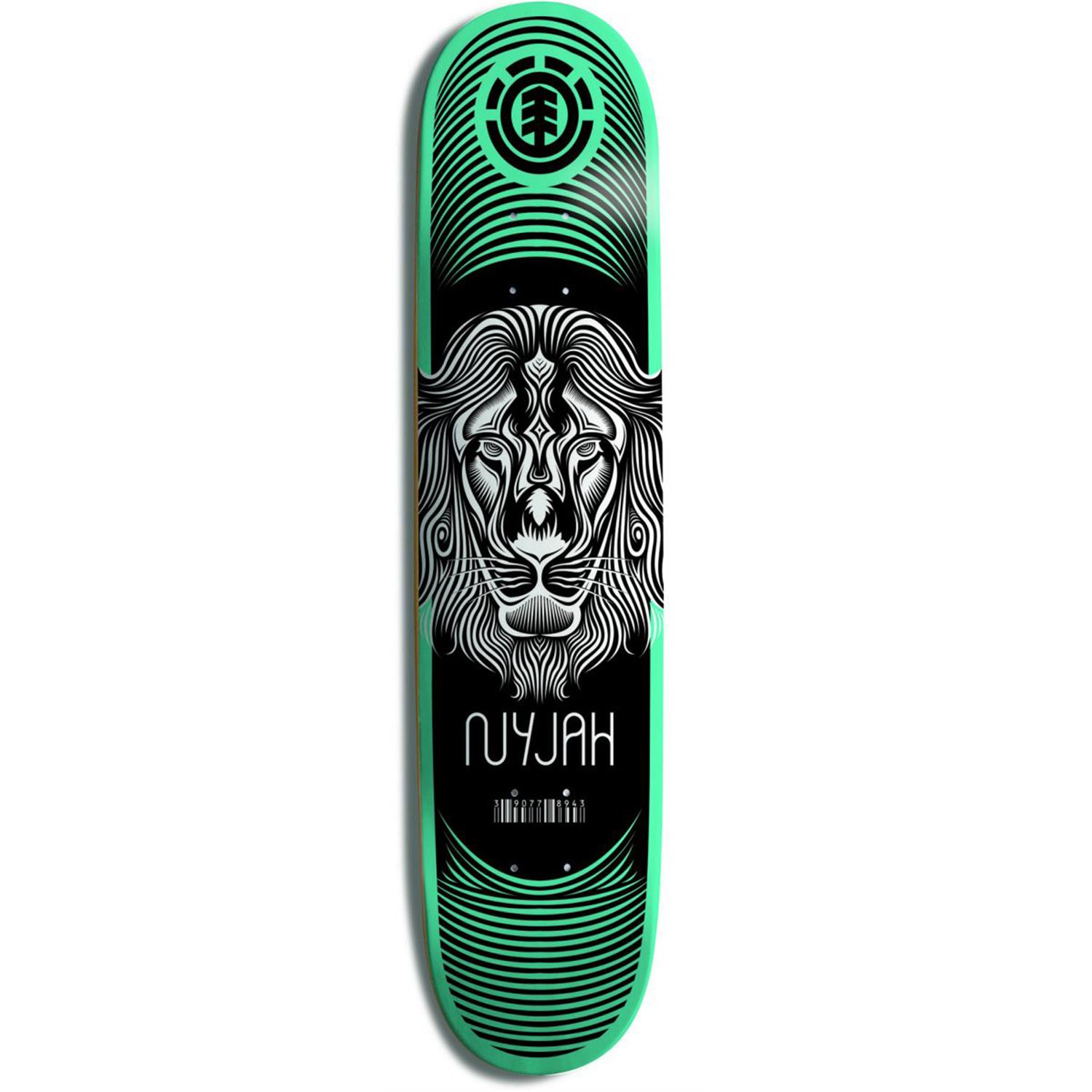 Element Nyjah Lion Imprint Skateboard Deck | evo