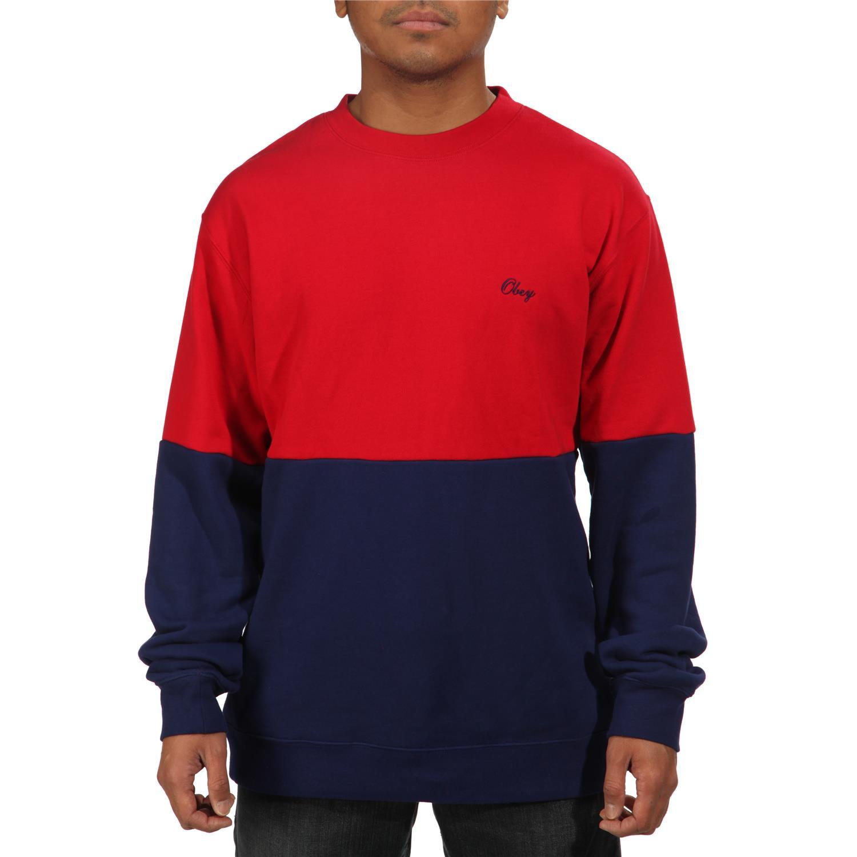 Obey Clothing The Hangout Crew Sweatshirt