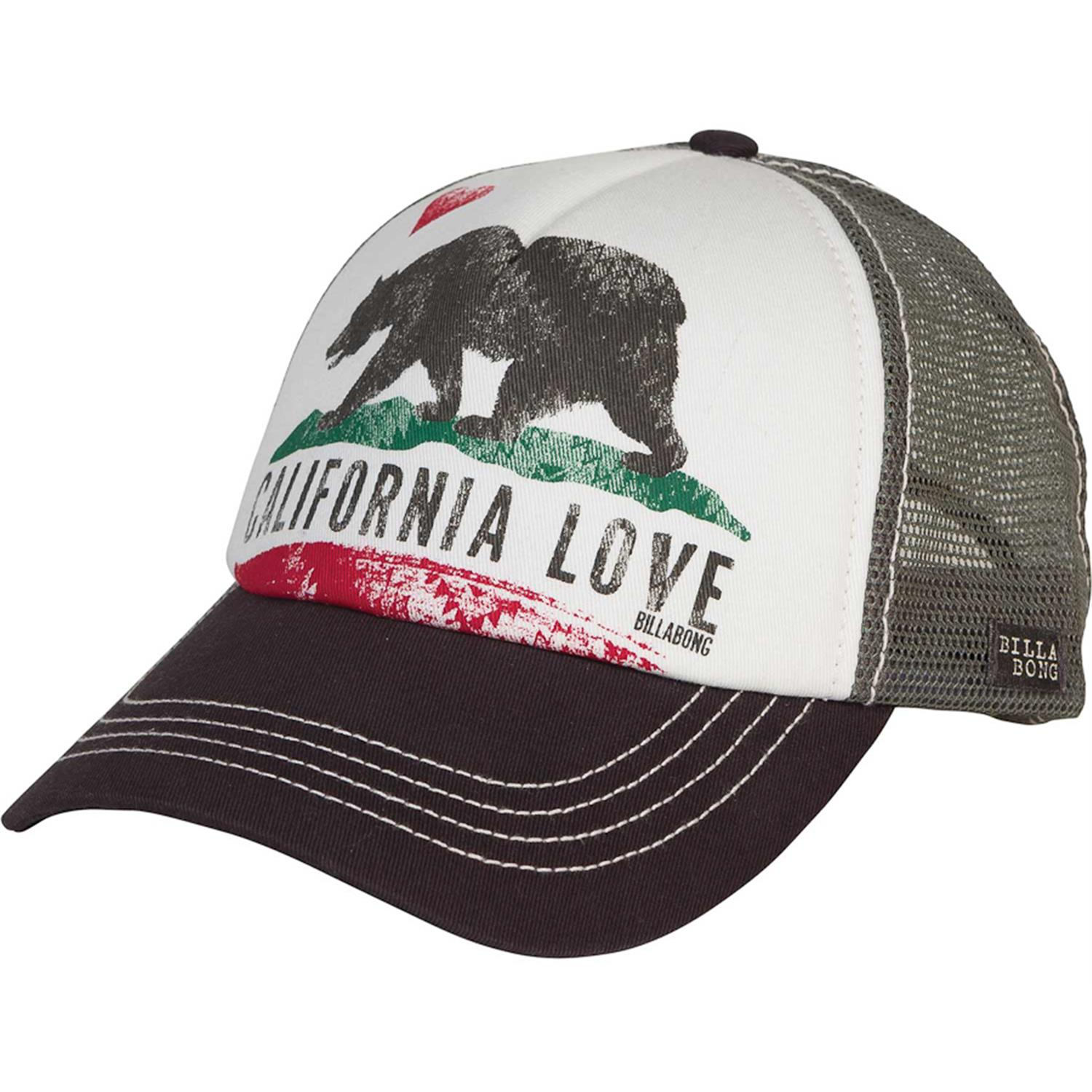 billabong pitstop trucker hat s evo