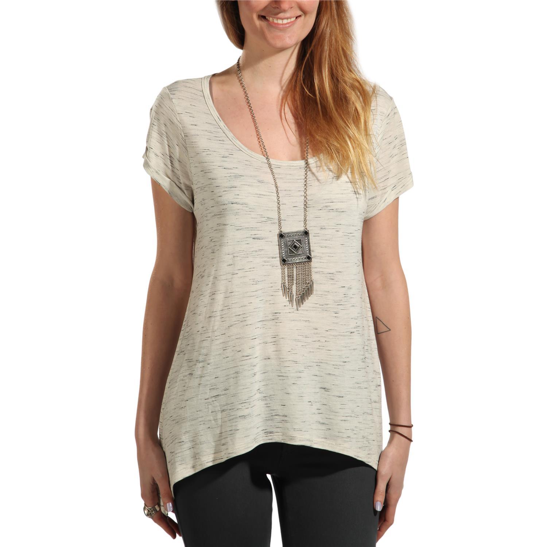 Volcom lived in slub short sleeve t shirt women 39 s evo for What is a slub shirt