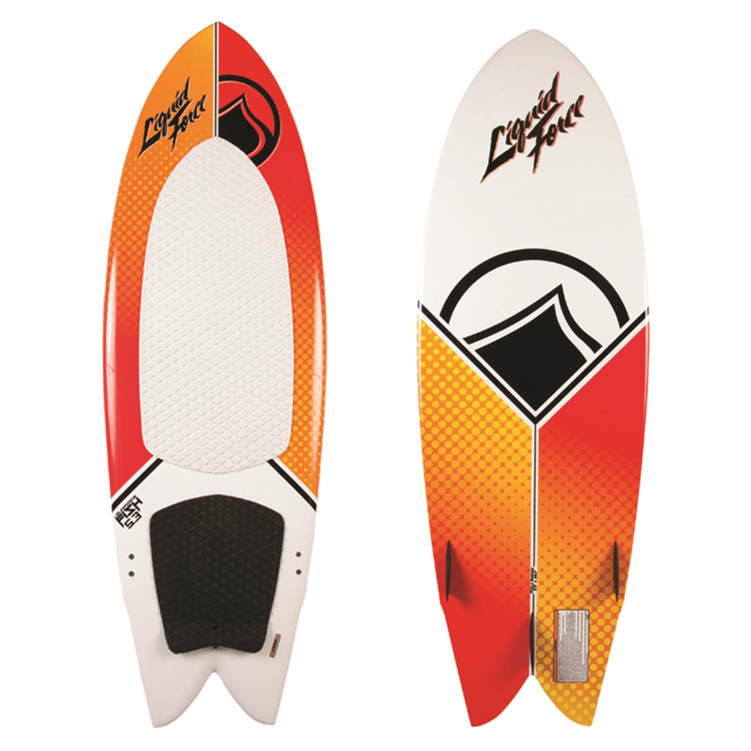 liquid force fish wakesurf board 2015 evo