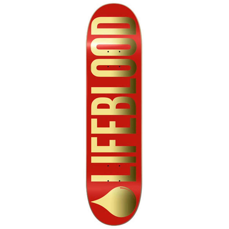 Golden Skateboard Deck Gold Logo Skateboard Deck