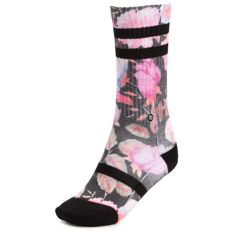 Stance garden punk crew socks women39s evo for Garden socks