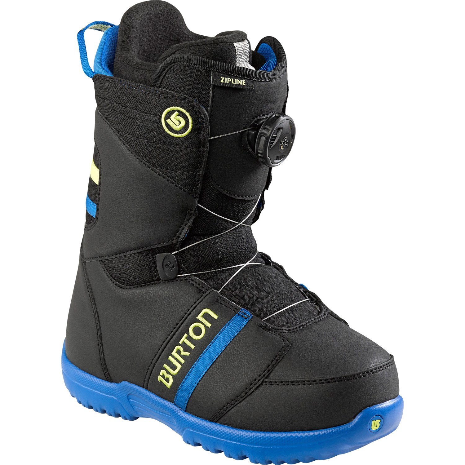 burton zipline boa snowboard boots kid 39 s 2015 evo. Black Bedroom Furniture Sets. Home Design Ideas