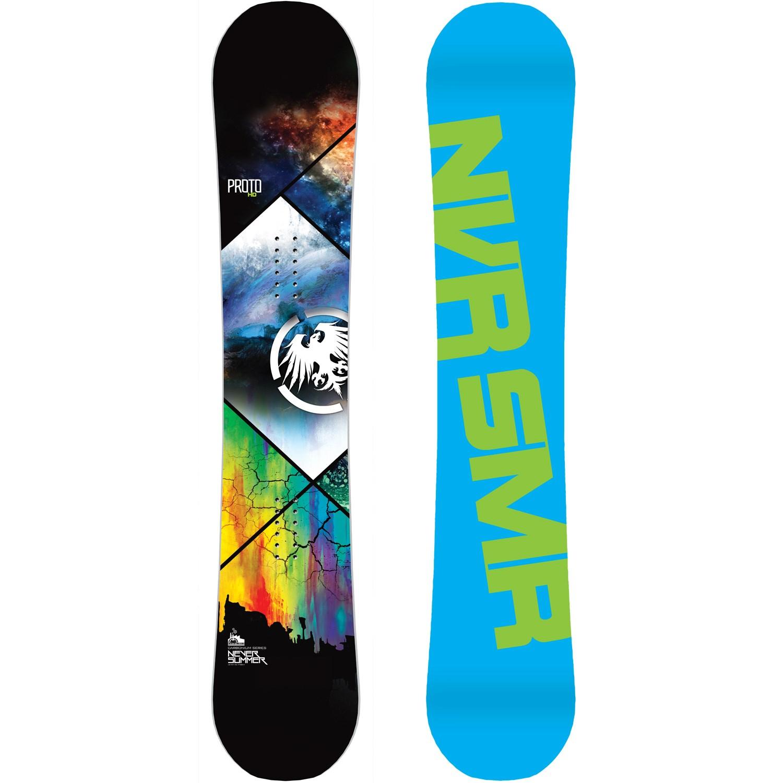 Never summer proto hdx snowboard 2015