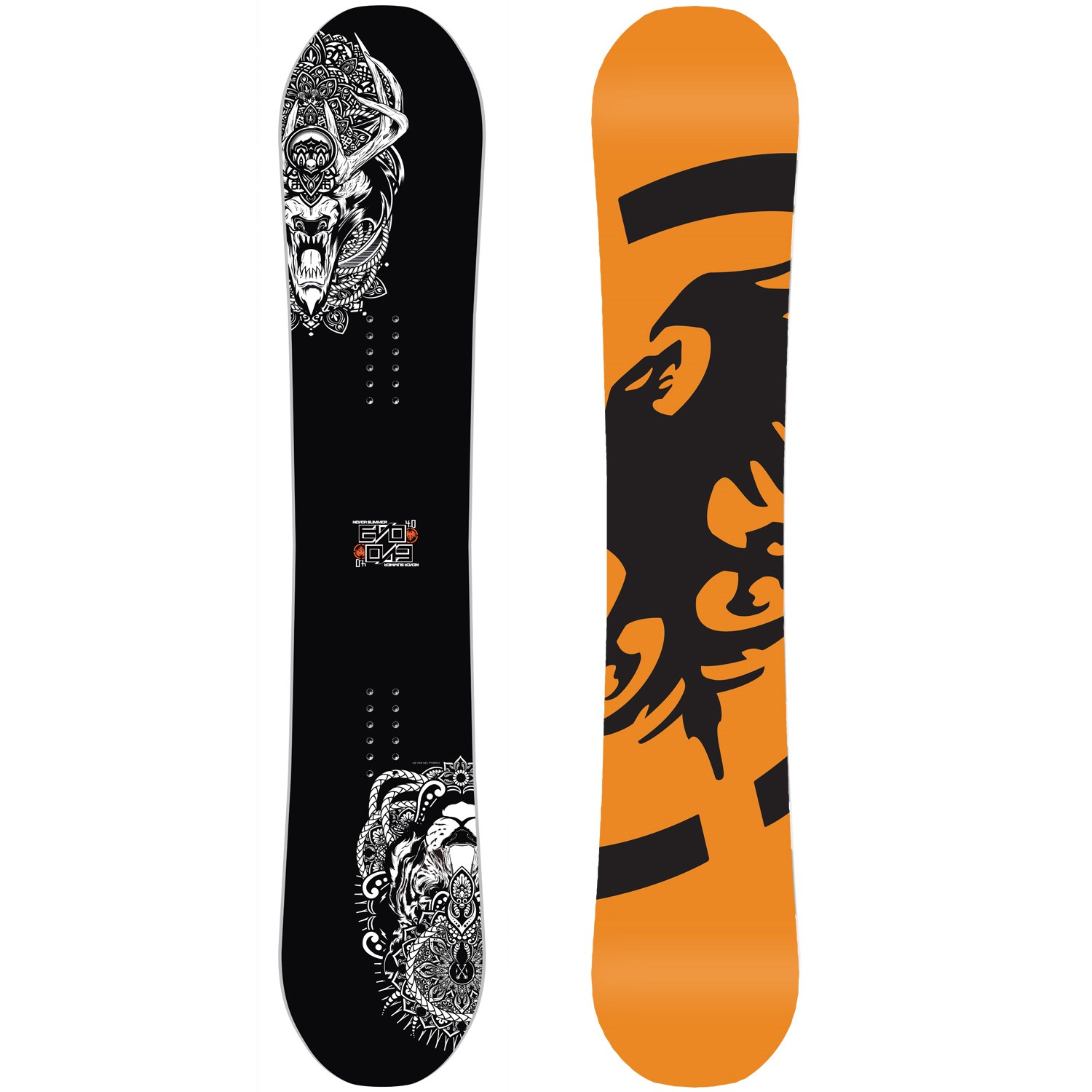 Never summer evo 4 0 snowboard 2015
