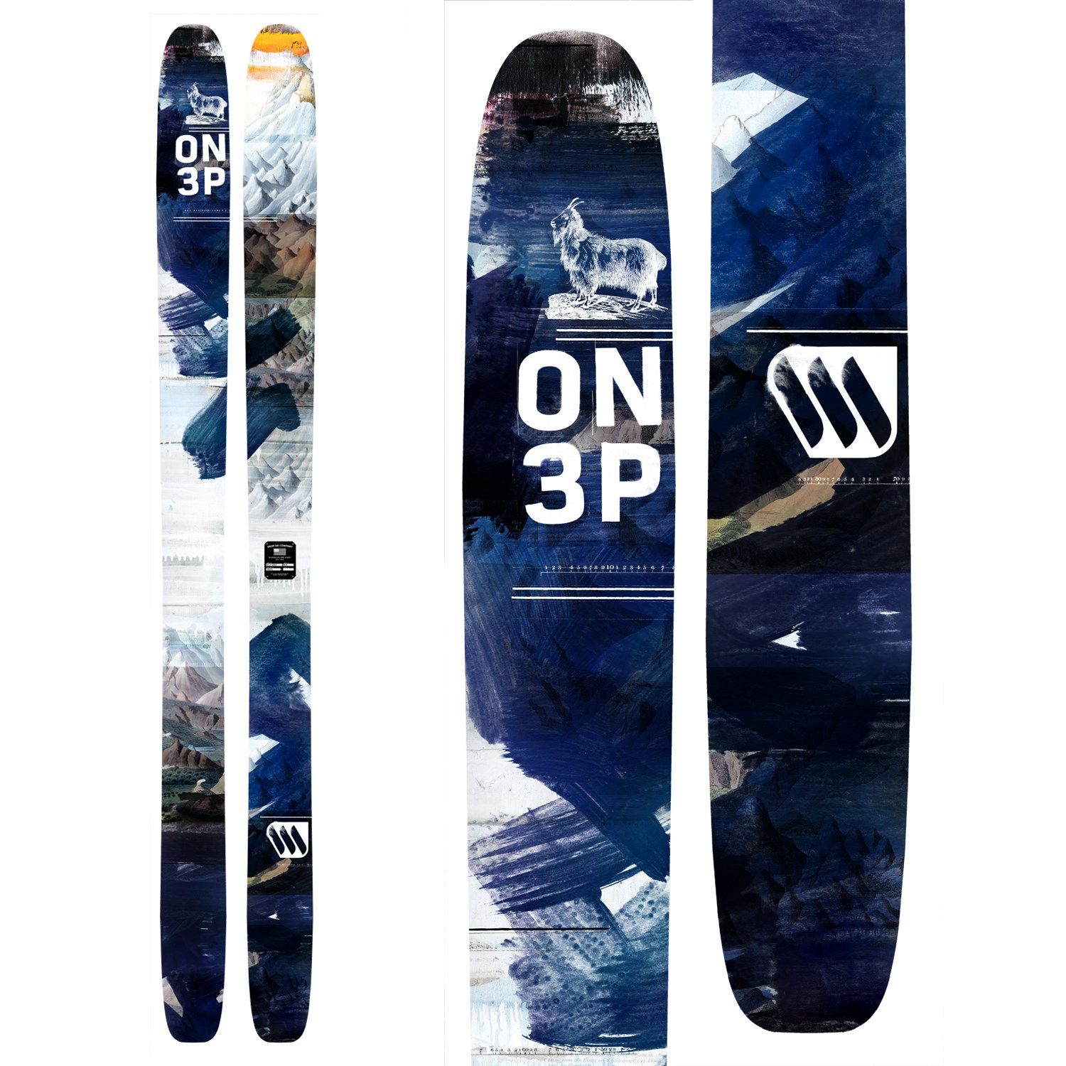 ON3P Billy Goat Skis 2015