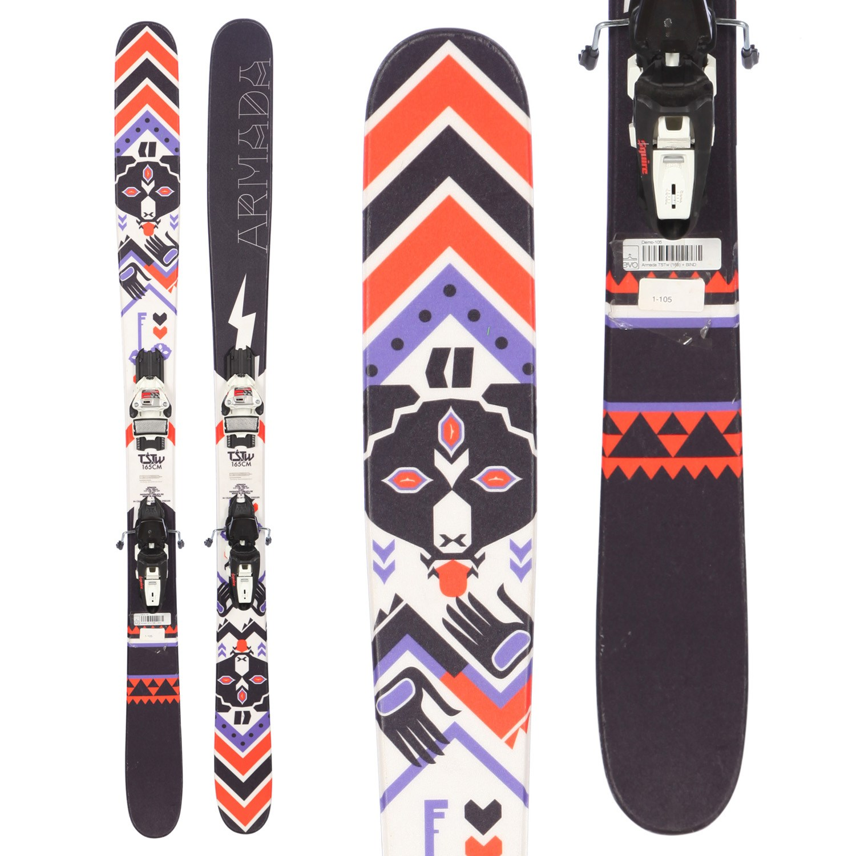 Armada TSTw Skis + Marker Squire Demo Bindings