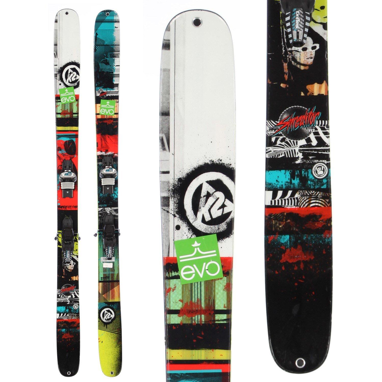 K2 Shreditor 112 Skis + Marker Griffon Demo Bindings