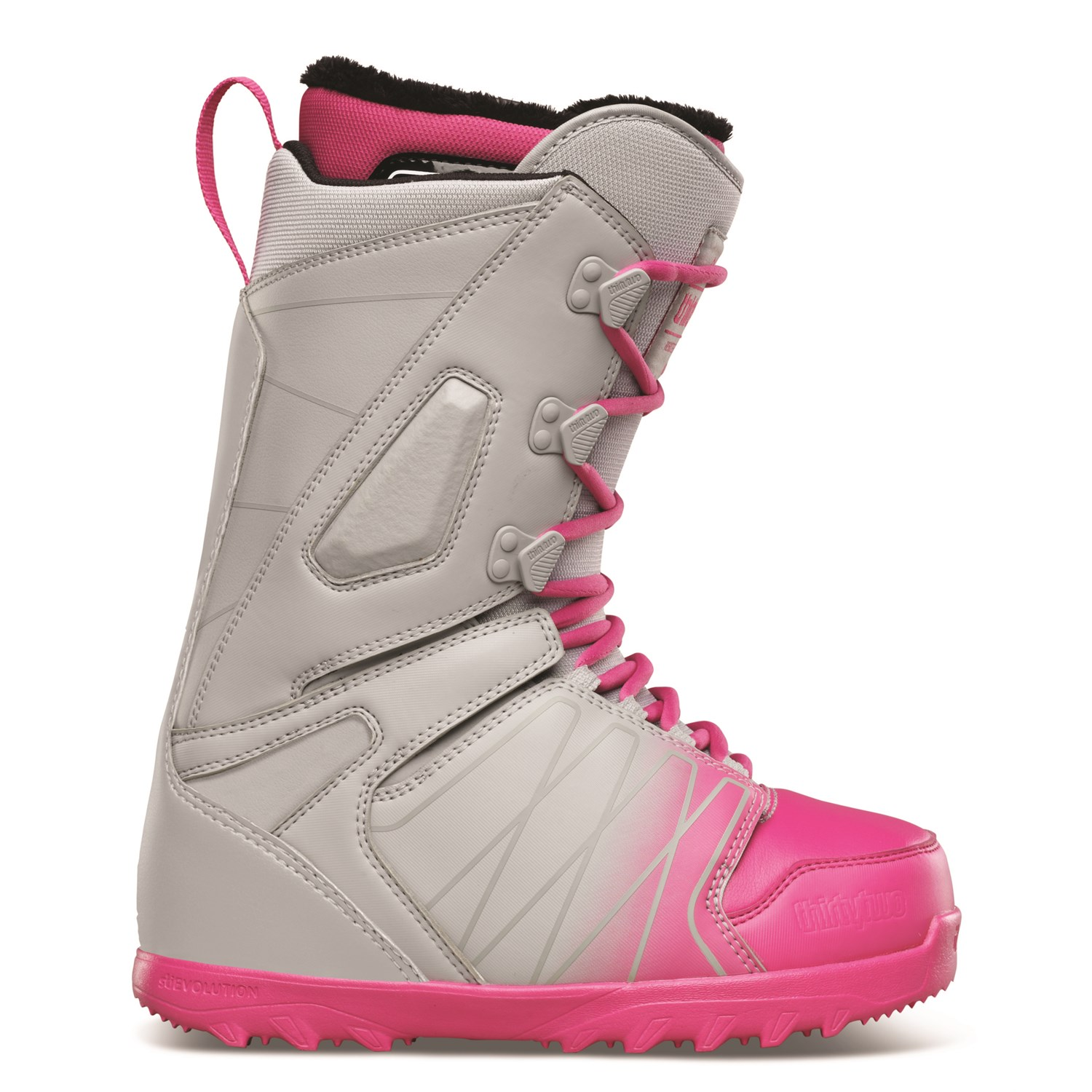 32 lashed snowboard boots s 2015 evo