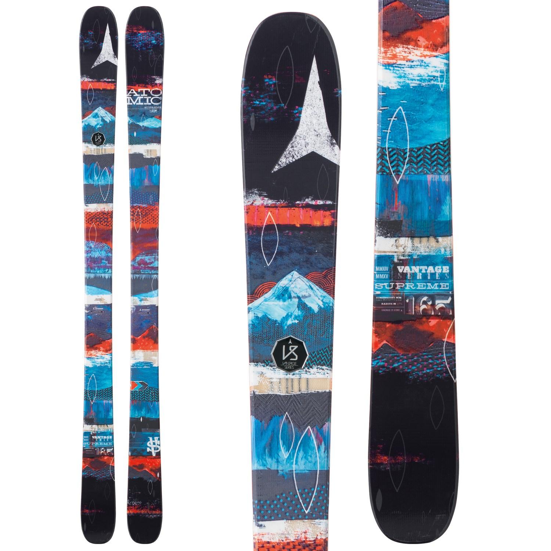 Atomic Supreme Skis + Salomon Z10 Ti Ski Bindings