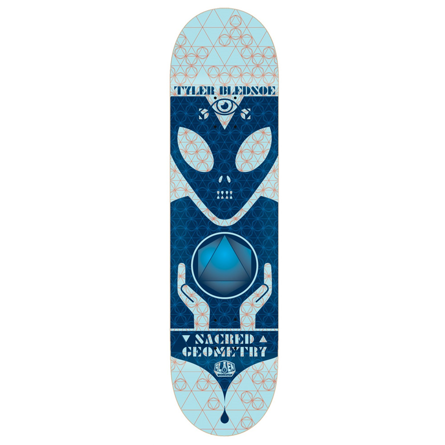Alien Workshop Sacred Geometry Bledsoe 8.0 Skateboard Deck ...