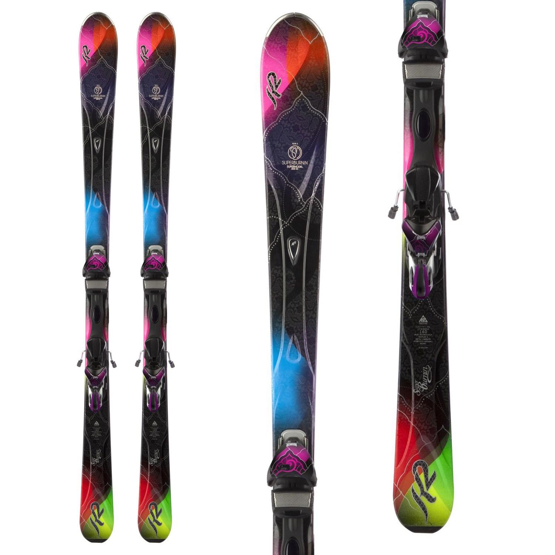 K2 SuperBurnin Skis + Marker MX 11 Demo Bindings